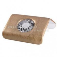 Aspirator de praf de unghii, portabil, maro - Aspirator praf unghii