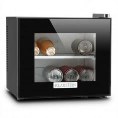 KLARSTEIN Frosty, negru, mini-frigider, 10 litri, 65W, clasa B