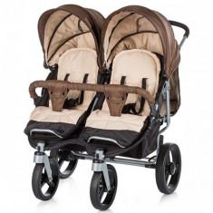 Carucior Twix 2017 Brown - Carucior copii 2 in 1 Chipolino