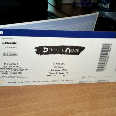 Bilete Depeche Mode - Cluj Arena 2017 + rezervare hotel 2 persoane - Bilet concert