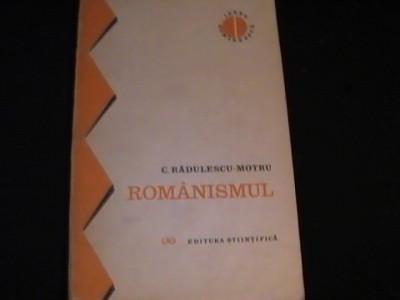 ROMANISMUL-C. RADULESCU MOTRU- foto
