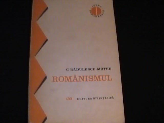 ROMANISMUL-C. RADULESCU MOTRU- foto mare