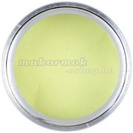 Pudră acril de culoare galben deschis 7g - galben pastel foto mare