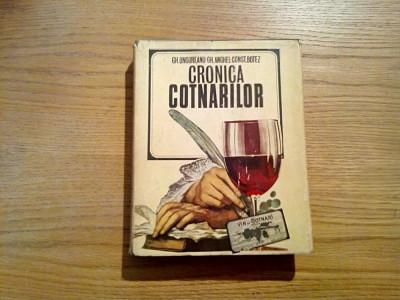 CRONICA COTNARILOR - Gh. Ungureanu, Const. Botez - Editura Stiintifica, 1971 foto