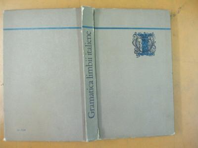 Gramatica limbii italiene M. Carstea Bucuresti 1971 foto