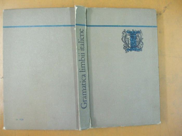 Gramatica limbii italiene M. Carstea Bucuresti 1971 foto mare