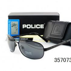 Ochelari De Soare Polarizati - POLICE - P8455  - Protectie UV 100% -  Model 4, Barbati, Protectie UV 100%