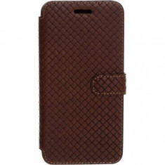 Husa Flip Cover Tellur Cross pentru iPhone 6 Leather Brown - Husa Telefon Tellur, iPhone 6/6S