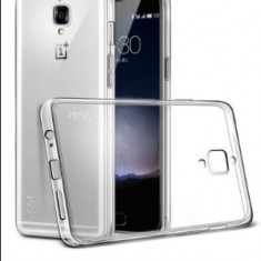 Husa de Protectie Soft Clear GEL TPU SILICONICA Transparenta OnePlus 3 3T - Husa Telefon OnePlus, Universala, Fara snur