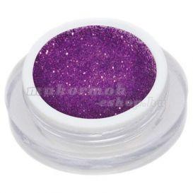 Gel UV colorat - violet cu sclipici 5ml