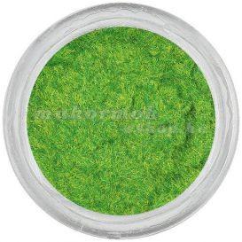 Pudră caşmir verde oliv cu efect catifelat foto mare
