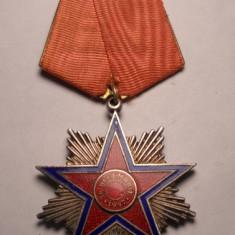 Ordinul Steaua Romaniei RPR 1947 Clasa a 4 a Primul Model Marcat RAR