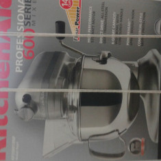 Mixer Alta bucatarie khicenaid 110v 60hz, De mana