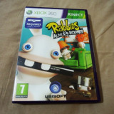 Joc Kinect Rabbids Alive and Kicking, XBOX360, original, alte sute de jocuri! - Jocuri Xbox 360, Simulatoare, 3+, Multiplayer