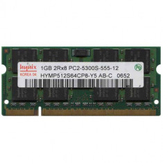Memorii Laptop SODIMM DDR2 1GB PC2-5300S 667Mhz - Memorie RAM laptop Hynix