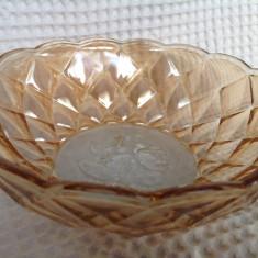 Castron sticla irizata Golden Pearl