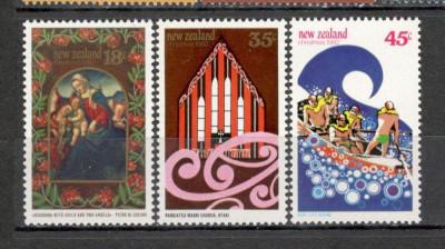 Noua Zeelanda. 1982 Nasterea Domnului-Pictura  KY.289 foto