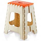 Taburet pliant pentru copii din masa plastica 31x37x44, 5cm Raki - Masuta/scaun copii