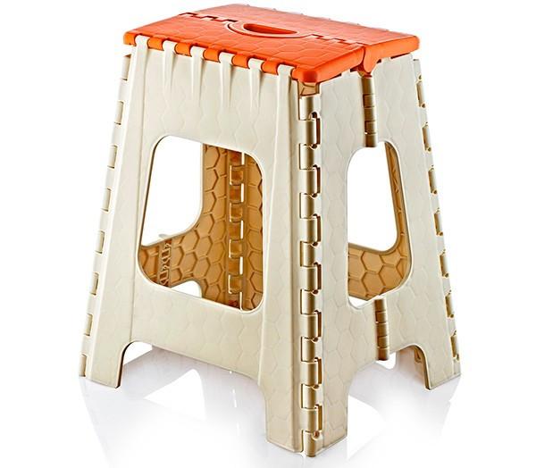 Taburet pliant pentru copii din masa plastica 31x37x44,5cm Raki