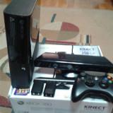 Xbox 360 Microsoft slim, 250 gb, kinect, 1 joc kinect