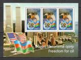 Azerbaidjan.2002 In memoria victimelor de la 11 septembrie-Bl.  SA.682