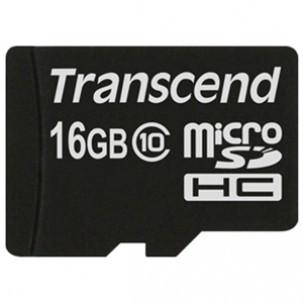 Card memorie Transcend Micro SDHC Premium 16GB Clasa 10 foto mare