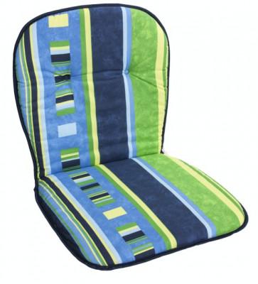 Perna dubla pentru scaun 80x43cm MONOBASO MN0115224 albastru galben Raki foto