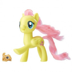 My Little Pony - Figurina Fluttershy cu Animal de Companie - Figurina Povesti Hasbro