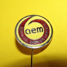 Insigna fotbal - AEM TIMISOARA