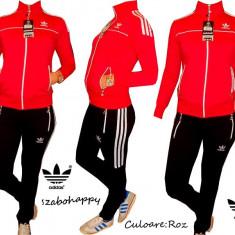 Trening Adidas pentru dama. - Trening dama Adidas, Marime: S, M, L, XL, XXL, Culoare: Roz, Bumbac