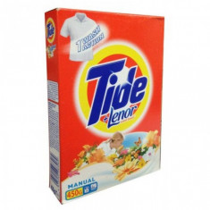 Tide detergent pudra manual 2in1 Lenor Touch - 450 g - Detergent rufe