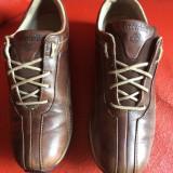 Adidasi Timberland originali, piele naturala, nr.37-23, 5 cm. - Adidasi dama Timberland, Culoare: Maro