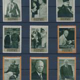 Fujeira 1969 12 Euro personalitati Eisenhower - serie nestampilata MNH - Timbre straine