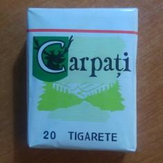 Pachet de tigari carpati -stare foarte buna-20 de tigarete - Pachet tigari