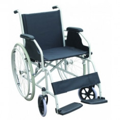 Fotoliu rulant cu antrenare manuala din aluminiu MFA11 - Scaun cu rotile