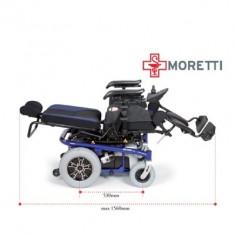 Fotoliu rulant electric gama Mobility seria ARIES PRO MCS920B - Scaun cu rotile