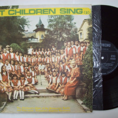 Disc vinil SA CANTE COPIII (2) Corul de copii al RTV (ST - EXE 03241) - Muzica soundtrack electrecord