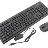 KIT A4TECH WLESS. 7100N ( TASTATURA GR-85 + MOUSE G7-630N)