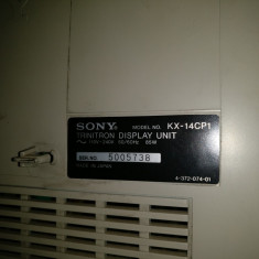 Monitor SONY TRINITRON KX-14CP1 - Monitor CRT