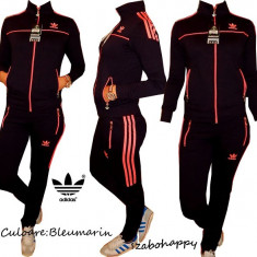 Trening Adidas pentru dama. - Trening dama Adidas, Marime: S, M, L, XL, Culoare: Bleumarin, Bumbac