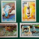 Sao Tome si Principe 1980 17 Euro cosmos - serie nestampilata MNH - Timbre straine