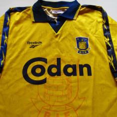 Tricou fotbal - BRONDBY IF (Danemarca) - Tricou echipa fotbal, Marime: L, Culoare: Din imagine, De club, Maneca scurta