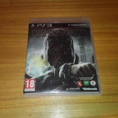 Joc Playstation 3/ps3 Dishonored - Jocuri PS3 Bethesda Softworks