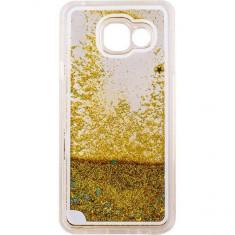 Capac de protectie Tellur Glitter pentru Samsung Galaxy A3 (2016) Yellow