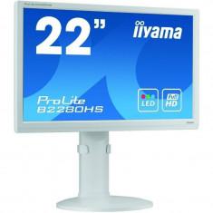 Monitor LED Iiyama ProLite B2280HS-W1 21.5 inch 5 ms White, 21 inch