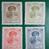 Luxemburg 1924 ducesa Charlotte - serie nestampilata MH/MNH