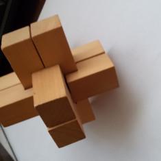 Puzzle Burr - Jocuri Logica si inteligenta