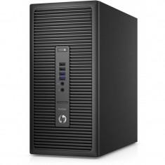 Sistem desktop HP ProDesk 600 G2 MT Intel Core i7-6700 8GB DDR4 256GB SSD Windows 10 Pro downgrade la Windows 7 Pro Black - Sisteme desktop fara monitor
