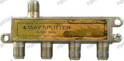 Spliter TV, 4 iesiri - 122422 foto
