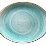 Farfurie ovala porțelan -AQUA 31cm MN010111 BONNA